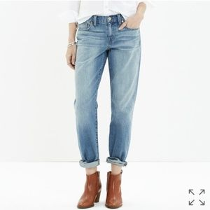"Madewell Boyjean Boyfriend Jeans Sz 29 (33"" Waist)"